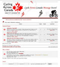 Cycle Across Canada Message Board